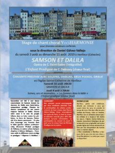Stage Honfleur 2019